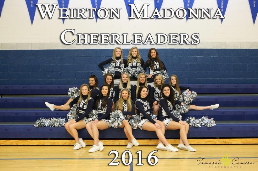 Weirton Madonna, Cheerleaders, MHS Cheerleaders
