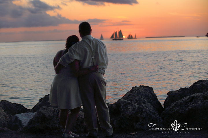 First Sunset as Husband and Wife