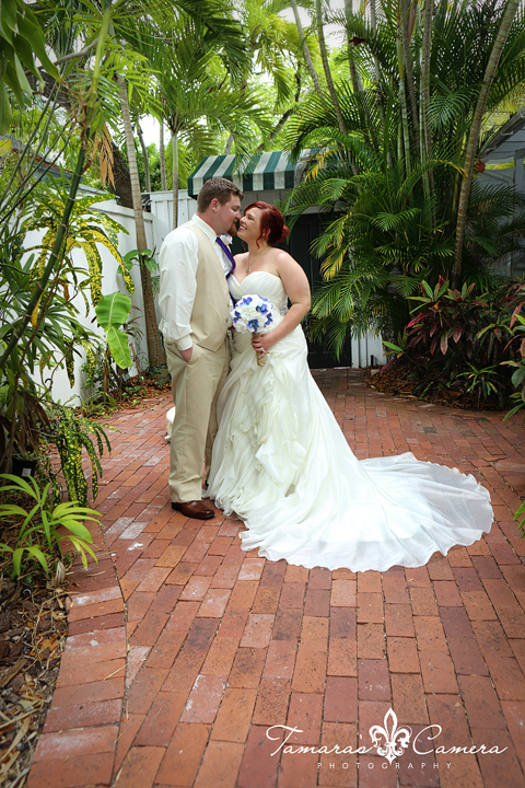 Tropical Bride and Groom Formal